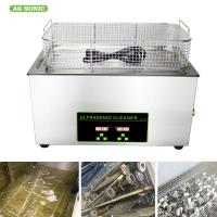 Quality Heated Industrial Pump Digital Ultrasonic Cleaning Machine Automatic 30l Tank wholesale