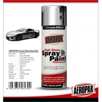 Buy cheap Chemicals Chrome Spray Paint Shock Resistance For Glass / ABS Plastics from wholesalers