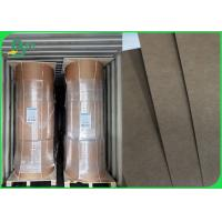 Quality Waterproof Greaseproof 300g + 15g PE Coated Kraft Paper For Food Tray / Drinks Cup wholesale