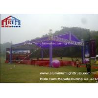Cheap Wedding Party Stage Light Truss , Customized Stage Lighting Structure TUV Certificated for sale