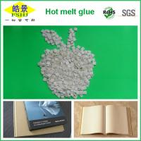 Quality Polyester Bookbinding Hot Melt Glue , Hot Melt Adhesive For Bookbinding High Adhesion wholesale