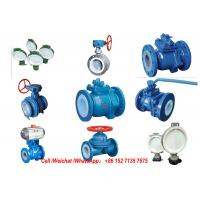 Quality PE Lined Steel  Ball valve Butterfly valve check valve Fluorine stop valve Fluorine lined pipe fittings Fluorine wholesale