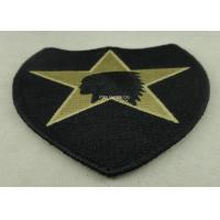 Quality USA Military Personalised Embroidered Badges , Embroidery Custom Cloth Patches wholesale