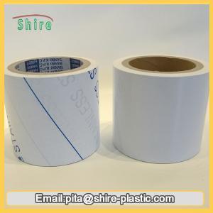 Quality Stainless Steel Laser Masking Film , Temporary Transparent PVC Lamination Film wholesale