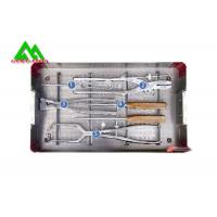 Cheap Antibacterial Facial Surgery Instrument Kit , Orthopedic Plate Instruments Kit for sale