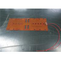 Buy cheap Quick Heating Kapton Foil Heater , Foil Heating Element Simple Assembly from wholesalers