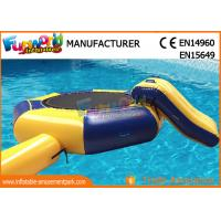 Quality Great Fun Inflatable Floating Water Toys Jumping Pad , 15 Foot Water Trampoline wholesale