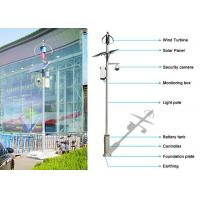 China Professional Off Grid Solar And Wind Kits Wind Turbine Generator Vertical Axis on sale
