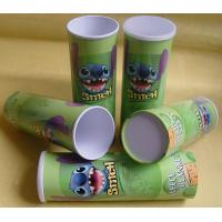 Quality Food Grade Paper Tube Containers for Photo Chips, Poweder, Tea, Candy, Chocolate Packing wholesale