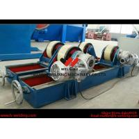 Cheap Conventional 10 Ton Tank Welding Rotators for Boiler Industry , PU Roller for sale