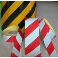 Quality Double colors black & yellow Advertisement Grade Reflective for traffic signs wholesale