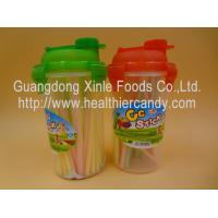 Cheap Personalized Fruit Flavor CC Hard Candy Sticks Sweets In Cup OEM Available for sale