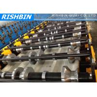 Quality Wide Span Roof Panel Roll Forming Machinery with 70 mm Shaft Diameter wholesale