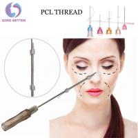 China Anti - Aging Soft Cosmetic Surgery Facelift Thread Blunt Nose Needles on sale