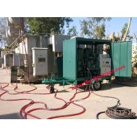 Quality Mobile trailer Transformer Oil Treatment Plant,Wheel Mounted Oil purification plant,cable oil degasification,dehydration wholesale