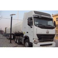 Quality ZF8098 GERMANY Steering Liquid Tank Truck SINOTRUK HOWO A7 6x4 25000L HC16 Rear Axles wholesale