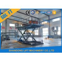 Buy cheap Home Residential Hydraulic Scissor Car Lift Garage Parking Car Lift CE Certificate from wholesalers