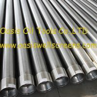 Buy cheap Oasis factory supplies Stainless steel sand control wire wrapped water well screens product