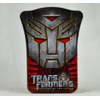 Buy cheap Mini Embossed Tin Can Custom Design Accepted Transformer Shield Box product
