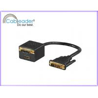 Quality Tinned, sliver plated DVI Monitor Cables DVI-D Monitor Cable DVI 24 + 1 with HDMI Female wholesale