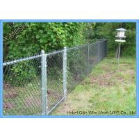 China 50x50 Mm Diamond Low Carbon Galvanized Chain Link Fence Fabric 11.5 Gauge on sale
