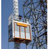 China Galvanized rack and pinion Construction Hoist Elevator lifts / construction lifting equipment on sale