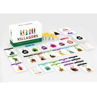 China Customize Your Own Paper Board Games Card Games Economy Games with Paper Tokens on sale