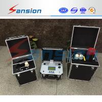 Quality Vlf High Voltage Ac Hipot Test Equipment Portable 20a Fuse For Power Cable wholesale
