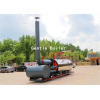 Quality Durable Gas Diesel Oil Fired Steam Boiler Q245R Steel Plate Material wholesale