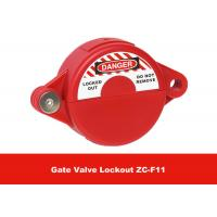 Cheap ABS Industrial Suitable for 25mm - 64mm Safety Gate Valve Lockout for sale