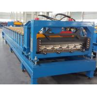 Quality CE Roof Panel Roll Forming Machinery 18 Stations 5 Tons De - Coiler Single Chains wholesale
