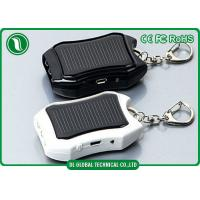 Quality Premium Keychain Solar Mobile Phone Charger Portable Mobile Power Bank 1200 mah wholesale