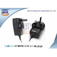 Quality UK Plug Power Adapter , Wall 12 Volt AC DC Adapter ABOUT175g Weight wholesale