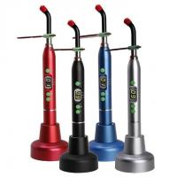 Quality RED Dental LED Curing Light Cure Lamp D2 Wireless Cordless 5W / 1400mw CL01H wholesale