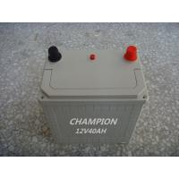 Quality Charging 12V 40 AH Dry Lead Acid Car Battery With Low Self - Discharge wholesale