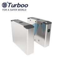 Buy cheap Office Factory School Flap Barrier Turnstile Entry Systems Access Control from wholesalers