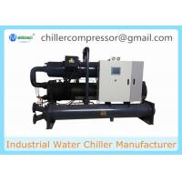 Quality 500kw 142TR Industrial Water Cooled Screw Chiller for Plastic Injection Machines wholesale