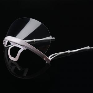 Quality Restaurant Chef Transparent ABS PET Hygienic Face Mask wholesale