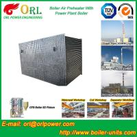 Quality 100 T Boiler Part Tubular Air Preheater / APH In Boiler Natural Circulation wholesale