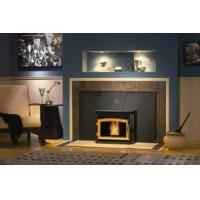 Quality Automatic On / Off Wood Insert Fireplace Wood Burning With UL / EPA Certification wholesale