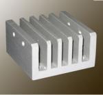 Quality Steel Polished / Electrophoretic Aluminum Heatsink Extrusion Profiles With Fabricating wholesale