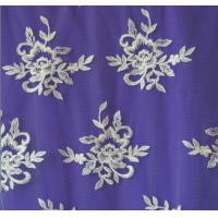 Cheap Ivory Embroidery Lace Fabric for Wedding Dress Hot Sale for sale