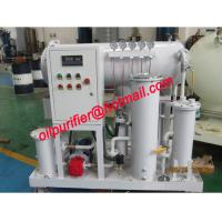 China Coalescence Separation Diesel Oil Purifier, Diesel Gasoline Light Oil Filtration Unit ,Dewater Machine on sale