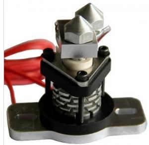 Metal 3D Printer Kits , Reprap Hot End V2.0 with 0.35mm / 0.4mm nozzle
