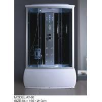 Cheap Electronic system power shower enclosures with tray Syphon Included Included tub shower stalls for sale