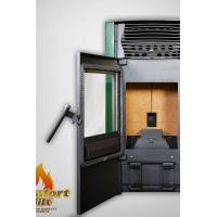 Quality Cast Iron Pellet Stove / Programmable Pellet Stove With Water Circulation Heating wholesale