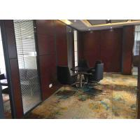 High Strength Structure Demountable Glass Partitions Pre Finished Aluminum Channel
