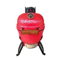 Quality Commercial Kamado Bbq Grill Tabletop Stove Grill With Ceramic And Stainless Steel Material wholesale