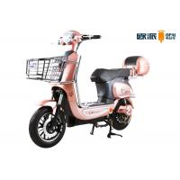 Quality Hight Class Adult Electric Bike Max Speed 30-40 km/h With Big Rear Box wholesale