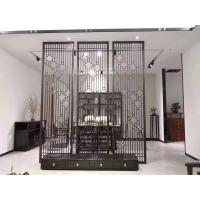 Quality Black Metal Laser Cut Panels For Facade Wall Cladding  Curtain Wall Ceiling wholesale